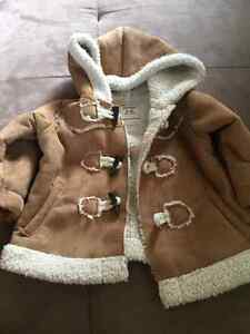 Old Navy 3-6 month Fleece lined jacket