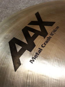 "18"" SABIAN AAX CRASH"