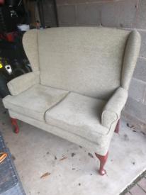 Hsl 2 seat Buckingham sofa