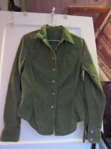 Green Corderoy Shirt