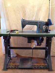 Industrial Singer Sewing Machine - Works Well!