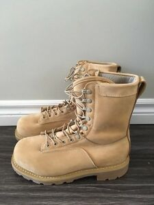 Tan STC Military Safety Boots