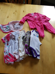 3-6 months, girls clothing lot 2 sa