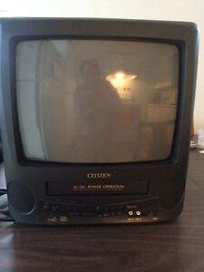 Télé Citizen avec VHS intégré