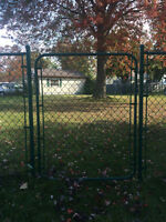210' Green Chain Liink Fence