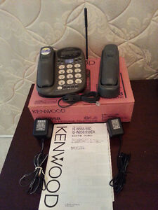 MINT Kenwood IS-W858 Cordless Phone Answering Machine