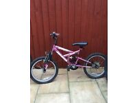 Girls pink bike bicycle Lovely