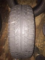 4 195/65/15 winter tires with rims