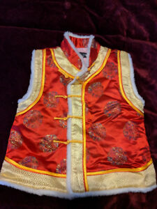 Chinese outfit (Vest) - size 4-5