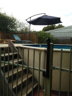 Stern above ground pool Albury Albury Area Preview