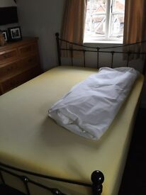 Antique style double bed