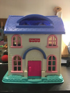 Vintage Fisher Price Dollhouse