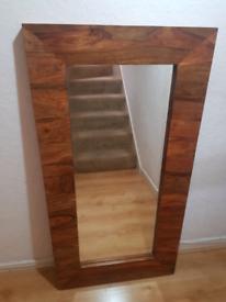 Kashmir Wood very Large mirror