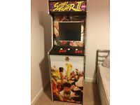 Street Fighter 25th anniversary special edition full size arcade machine