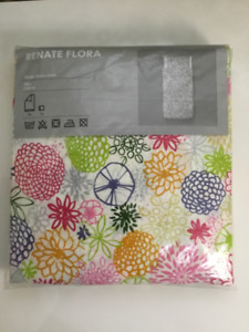 IKEA Renate Flora Twin Size Duvet and Pillowsham cover