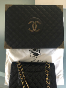 Chanel Classic flap bag lambskin - 24k gold - limited edition