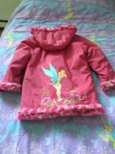 Fille Taille 6X - Manteau Fée Clochette - Tink Coat for girl 6X