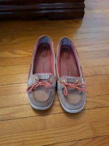 Sperry shoes size 8 like new only worn inside.