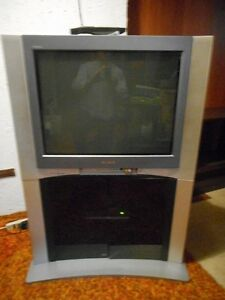 SONY TRINITRON WITH MATCHING CABINET