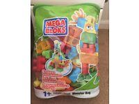 Children's Mega bloks Monster Bag Lego Blocks