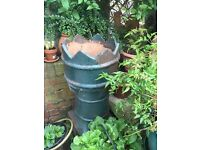 Reclaimed Victorian chimney pot