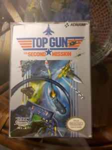 Boxed Top Gun NES