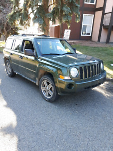 Jeep patriot 2007 4x4 very good condition