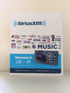 SiriusXM Starmate 8 Satellite Radio with Vehicle Kit
