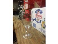 Stella Artois pint glasses