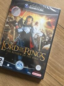 GameCube lords of the rings (sealed)