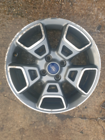 Ford alloy wheel with tps