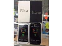 Samsung galaxy S3 refurbished unlocked White & Black color