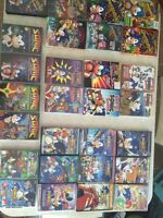 Rare sonic the hedge hog dvd collection