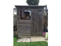 6 X 4 shiplap garden shed - still available 24/9 - Southbourne