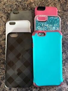 6 iPhone 6 or 6s cases **$10 each**