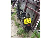 """Suzuki ap50 """"99"""" breaking"""