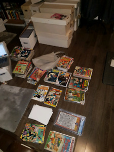 LARGE MARVEL AND DC COMIC COLLECTIONS! ××READ DESCRIPTION××