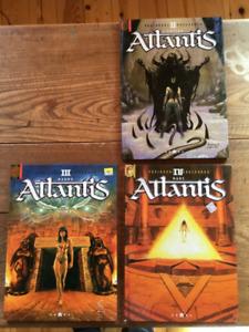 Atlantis (Froideval) Tome 2, 3 et 4
