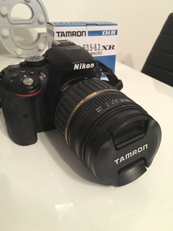 nikon d5300 tamron 18 200 f 3 5 6 3 lens in newton mearns glasgow gumtree. Black Bedroom Furniture Sets. Home Design Ideas