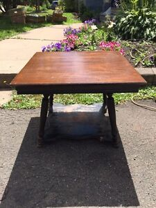 Old coffee table - solid wood