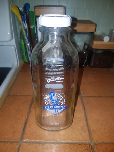 Steam whistle 1L milk jugs NEVER USED