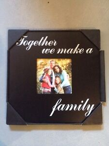 3 Brand New Family Picture Frames for $15
