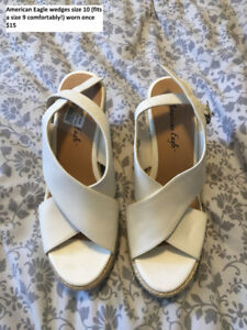 American Eagle wedges women's 10