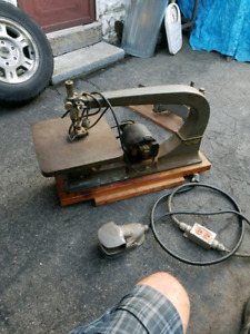 """Smooth Running  Delta Rockwell 24""""Scroll Saw Foot Switch &Stand"""