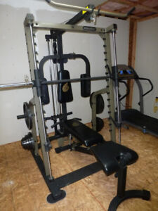 ISO Nautilus Home Gym/Weight Bench