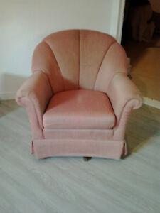 fauteuil pivotable