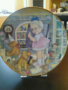 Carol Lawson Collector's Plates