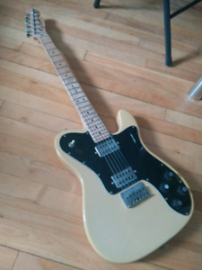 Squier Vintage Modified Telecaster Deluxe  w Gretsch pickups