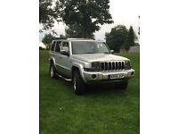 Jeep commander 4x4 7 seater
