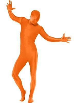 Zweite Haut Anzug, Orange, Kostüm, Brust 96.5cm-102cm, - 5 Zweite Kostüm